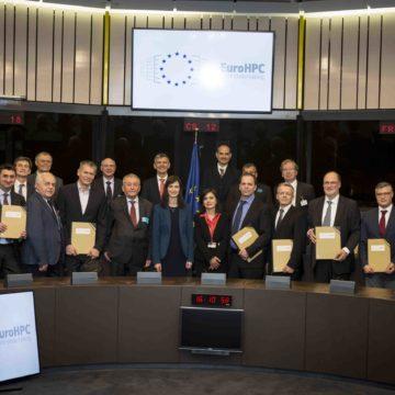 Podpis pogodbe EuroHPC Joint Undertaking1